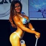Jessica García , competidora Bikini fitness
