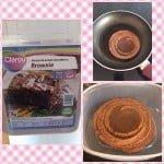 Tortitas de avena sabor brownie