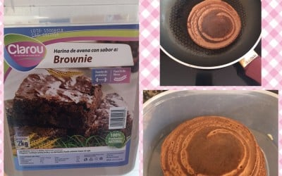 Tortitas de avena sabor brownie