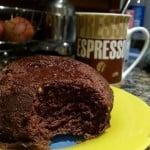 Mug cake estilo brownie