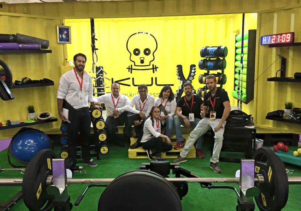 Kul fitness : fabricación y distribución de material profesional para instalaciones deportivas