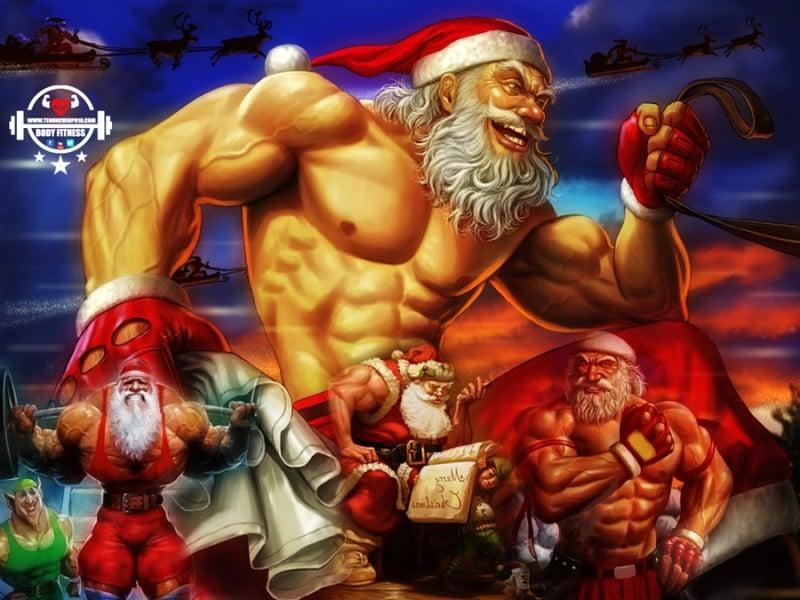 Papá Noel Fitness