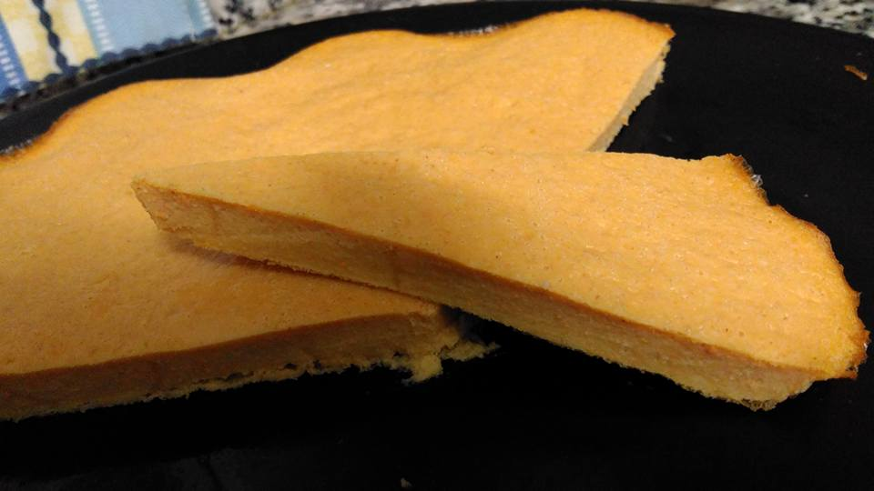 Pastel de calabaza y zanahoria