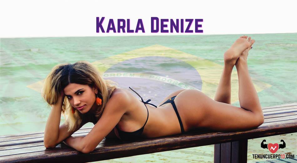 Karla Denize: Esta disciplina tiene su precio, pero te fortalece como persona