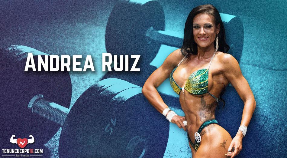 Andrea Ruiz: Disfruto cada momento de este estilo de vida