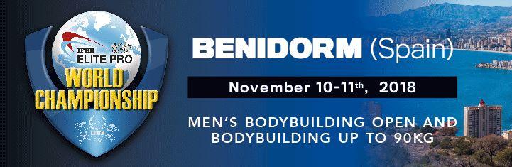 IFBB Elite PRO world championship bodybuilding