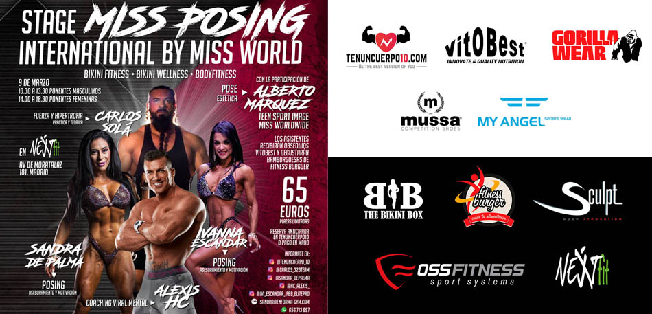 Seminario Stage Miss Posing International by Miss World