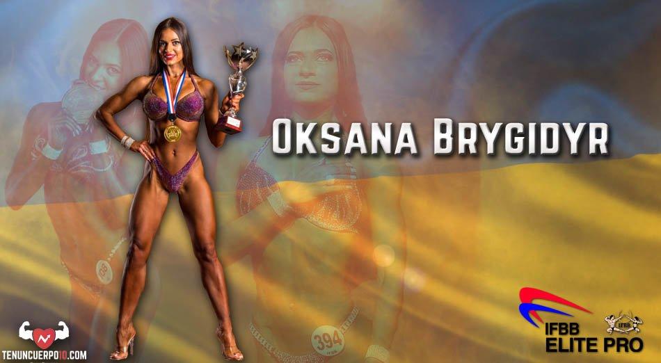 Oksana Brygidyr: Ahora empieza una nueva etapa en mi carrera